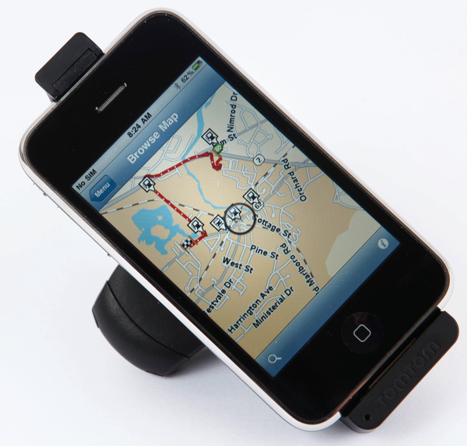iPhone 3GS TomTom
