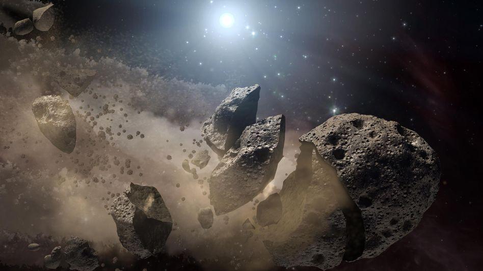 """Asteroid: Planetary Resources will einen """"Goldrausch"""" auf Kleinplaneten entfachen"""