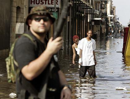Hurrikan Katrina in New Orleans: Soziale Spaltung im Katastrophenmanagement