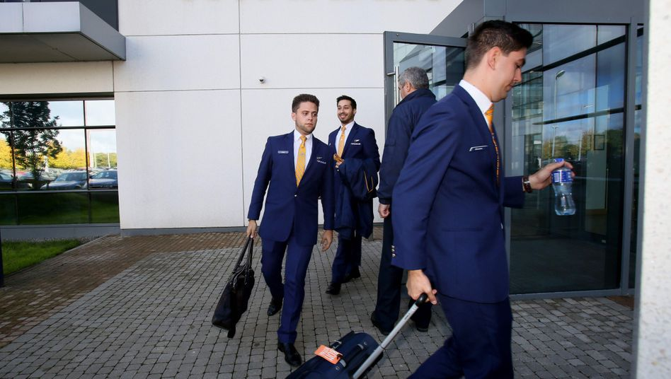 Auch die deutschen Ryanair-Piloten wollen am Freitag die Arbeit niederlegen