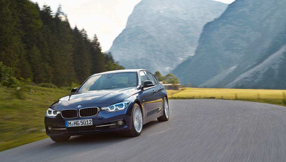 BMW 3er: Knapp 150.000 Autos konnte BMW im Januar unter seiner Stammmarke verkaufen