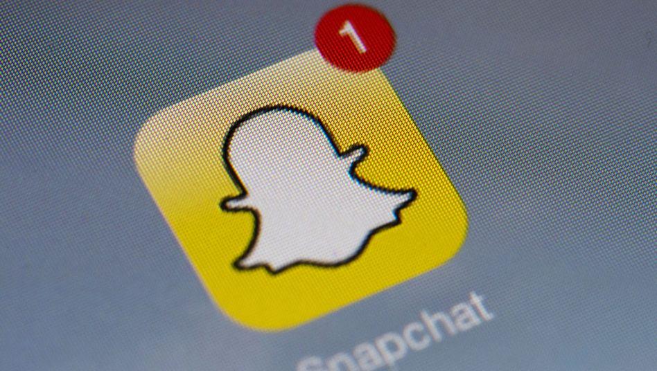 Foto-App Snapchat: Bilder, die sich von selbst löschen