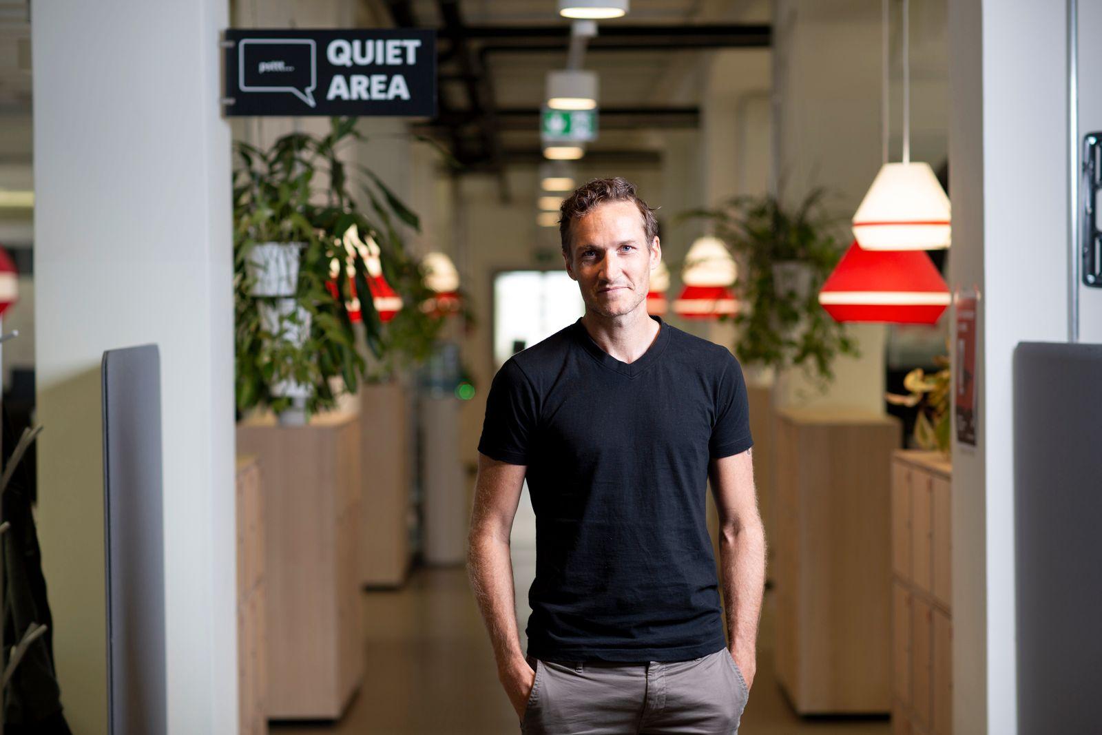 Niklas Oestberg Delivery Hero.