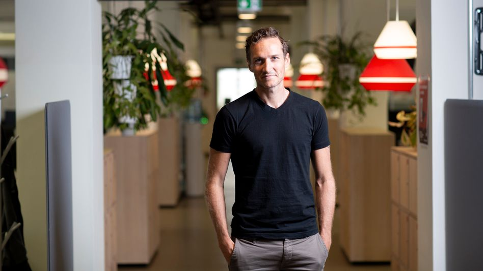 Die Welt ist gerade genug I: Delivery-Hero-CEO Niklas Östberg in der Berliner Zentrale