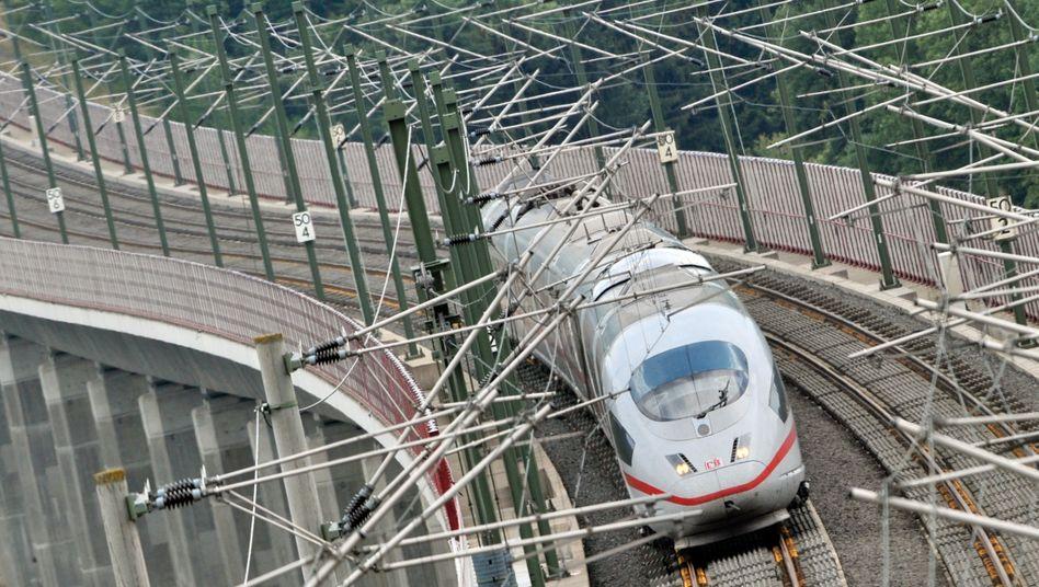 Flott unterwegs: Die Bahn braucht zusätzliches Personal
