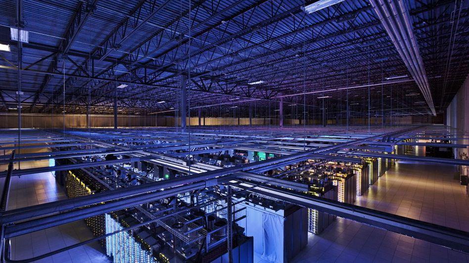 Google-Datencenter in der finnischen Stadt Hamina