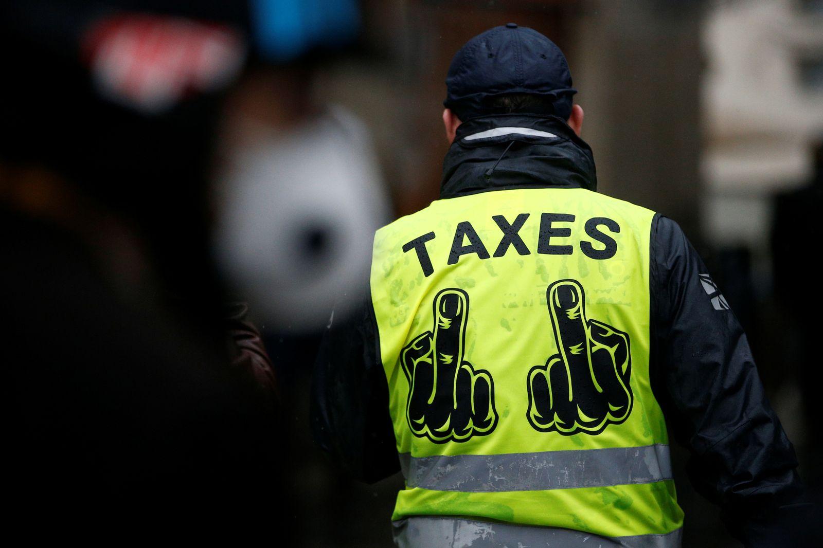 Gelbwesten-Protest / CO2-Steuer