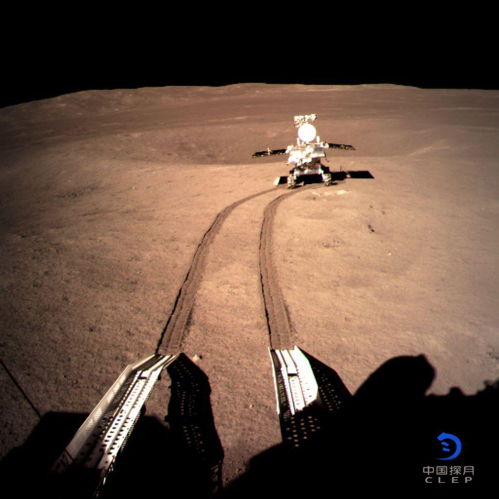 Chinas Mond-Rover «Jadehase 2»