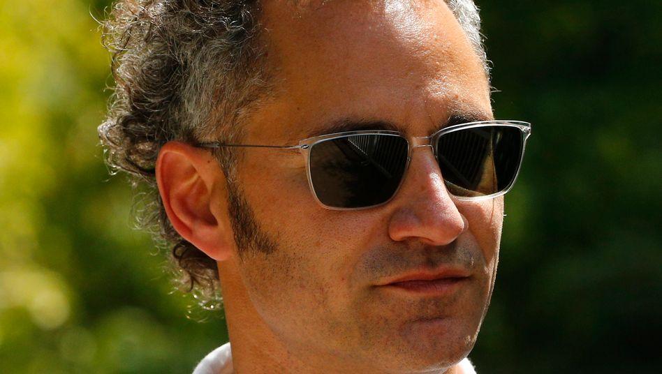 """Alex Karp: """"Wir brauchten jemanden mit grauem Haar"""", erinnert sich Palantir-Entwickler Joe Lonsdale"""