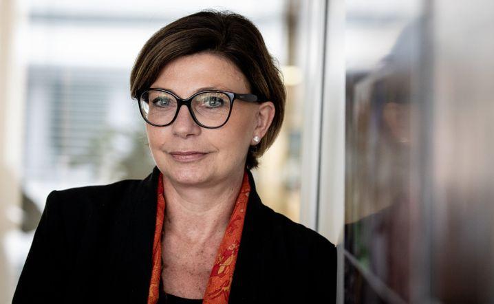 Hat bereits einen Aufpasser an ihrer Seite: Sylvie Matherat, Vorständin der Deutschen Bank, unter anderem zuständig für Geldwäscheprävention