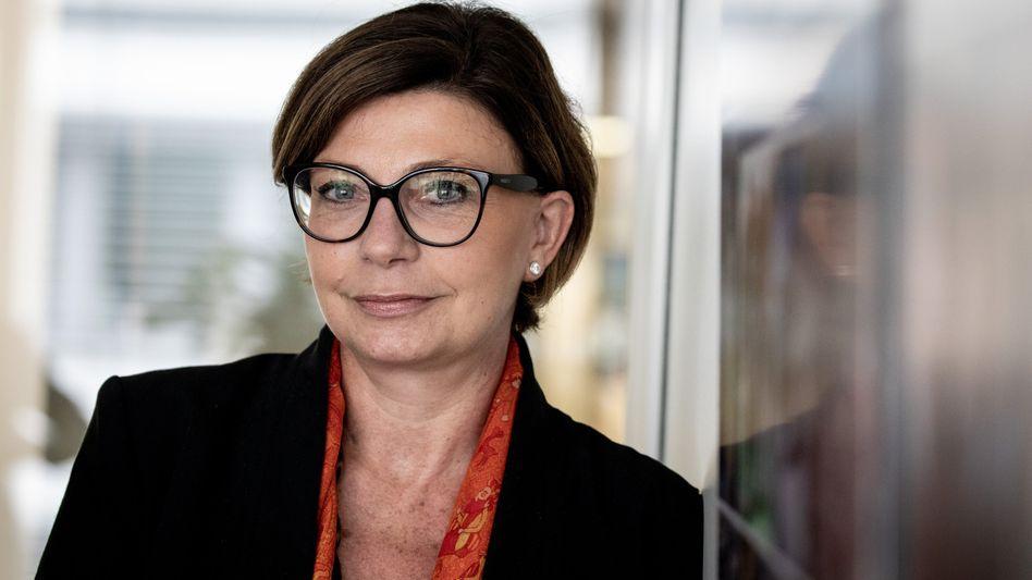 Bekommt einen Aufpasser: Sylvie Matherat, Vorständin der Deutschen Bank, und unter anderem zuständig für Geldwäscheprävention.