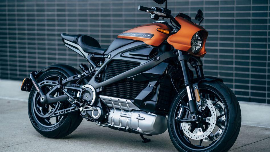 Die LiveWire von Harley Davidson: Von Null auf Hundert in 3,5 Sekunden