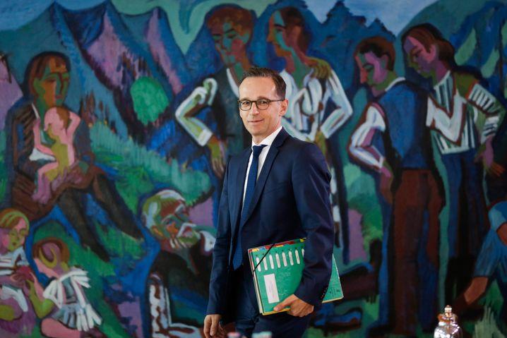Verbraucherschutzminister Heiko Maas drängt Volkswagen zu einer großzügigeren Auslegung Fristen bei Gewährleistungsansprüchen