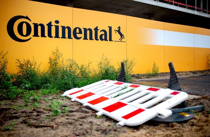 Baustelle Conti: Der Hannoveraner Zulieferer ist nach einem enttäuschenden Ausblick an der Börse abgestürzt