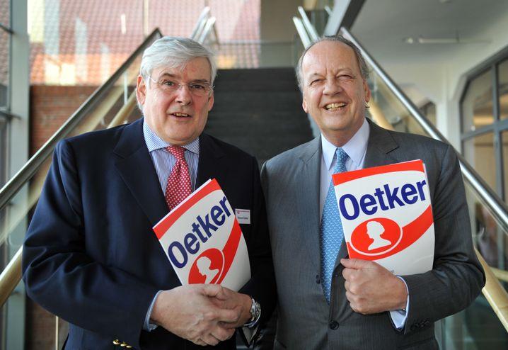 Richard (links) und August Oetker: Zwist mit den jungen Oetkers