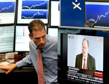 Immer auf Empfang: An der Börse laufen viele Informationen zusammen