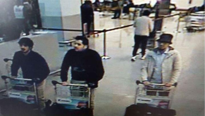 Schockstarre in Brüssel: Explosionen am Flughafen und in der U-Bahn