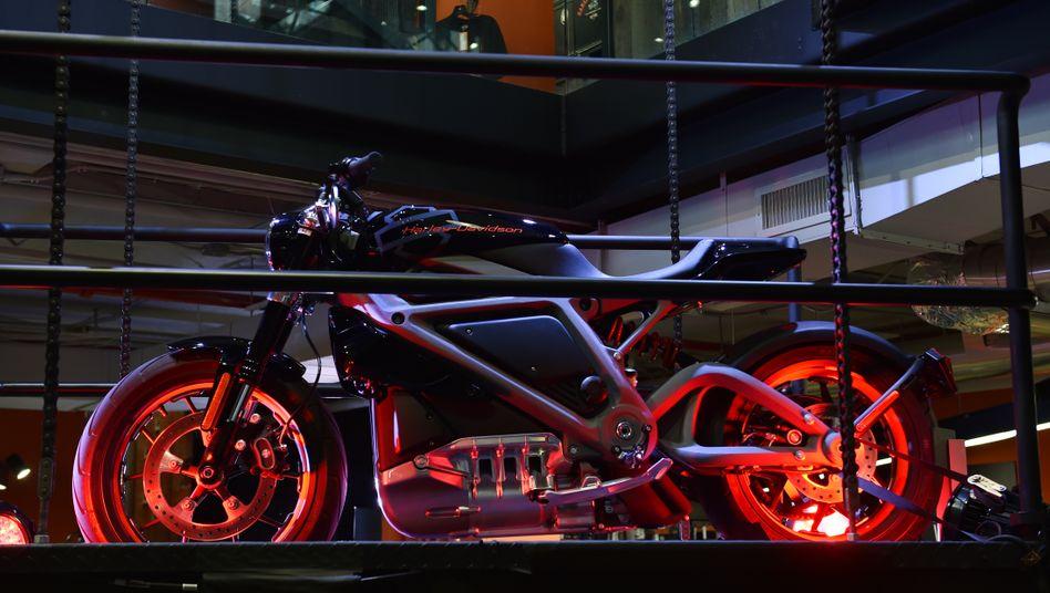 """""""LiveWire"""": Mit diesem Elektromotorrad will Harley Davidson Marktführer werden"""