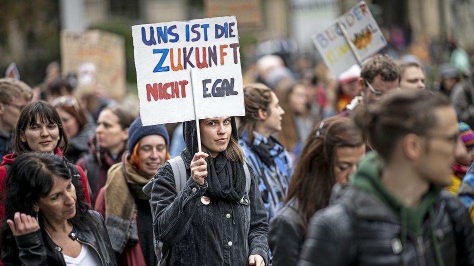Demos sind gut, retten aber das Klima nicht.
