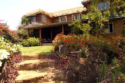 Lewa Lodge, Haupthaus der Lewa Wilderness Trails Lodge