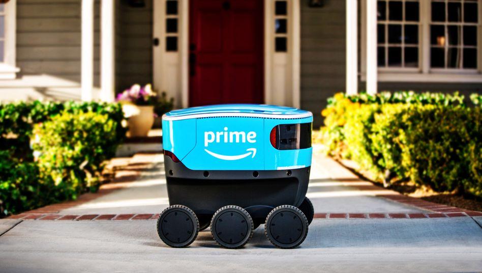 Schöne neue Welt? Amazon-Roboter