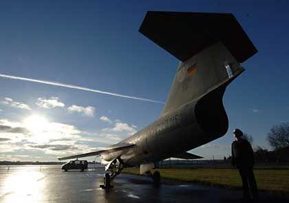 Noch im Einsatz, während andere Armeen die Jets nur noch als Ziele für Schussübungen einsetzten: Starfighter der deutschen Luftwaffe