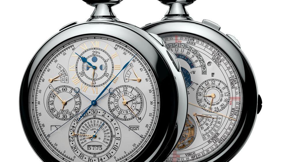 Referenz 57260: Die komplizierteste Uhr der Welt