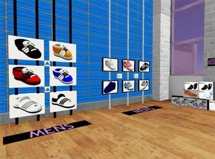 Shoppen in 3D: In virtuellen Welten wie Second Life können Produkte realer dargestellt werden