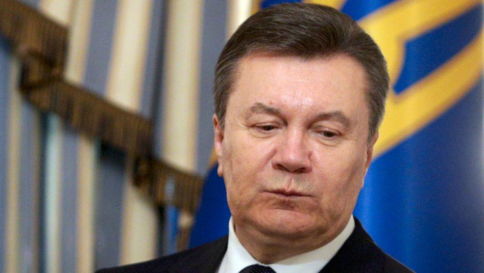Viktor Janukowitsch: Seit Sonntagabend verliert sich seine Spur