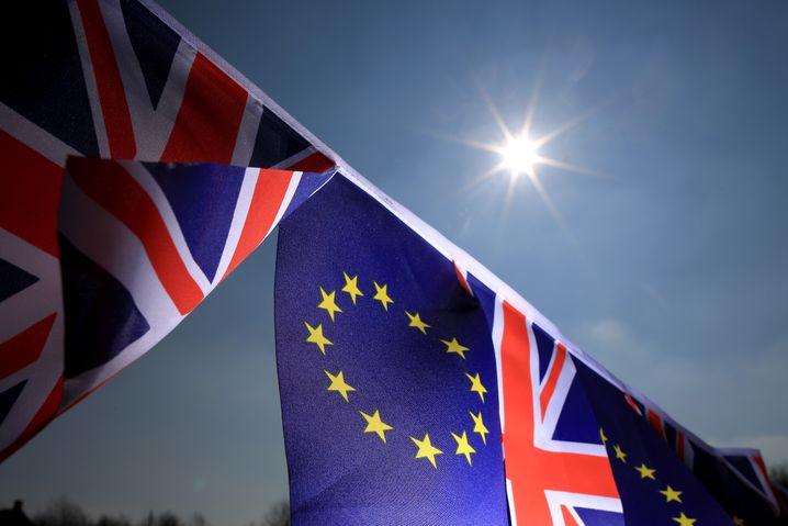 Noch vereint: Die EU und Großbritannien