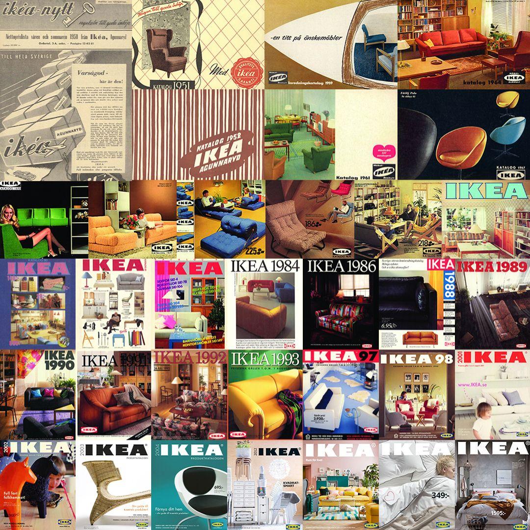 Collage Ikea Kataloge