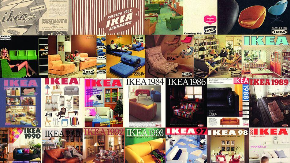 Antiquarisch: Ikea-Kataloge aus 70 Jahren
