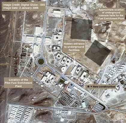 Iranische Nuklearanlagen: Fortsetzung der Urananreicherung als dominantes politisches Ziel