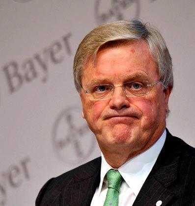 Zunehmend pessimistisch: Bayer-Chef Wenning