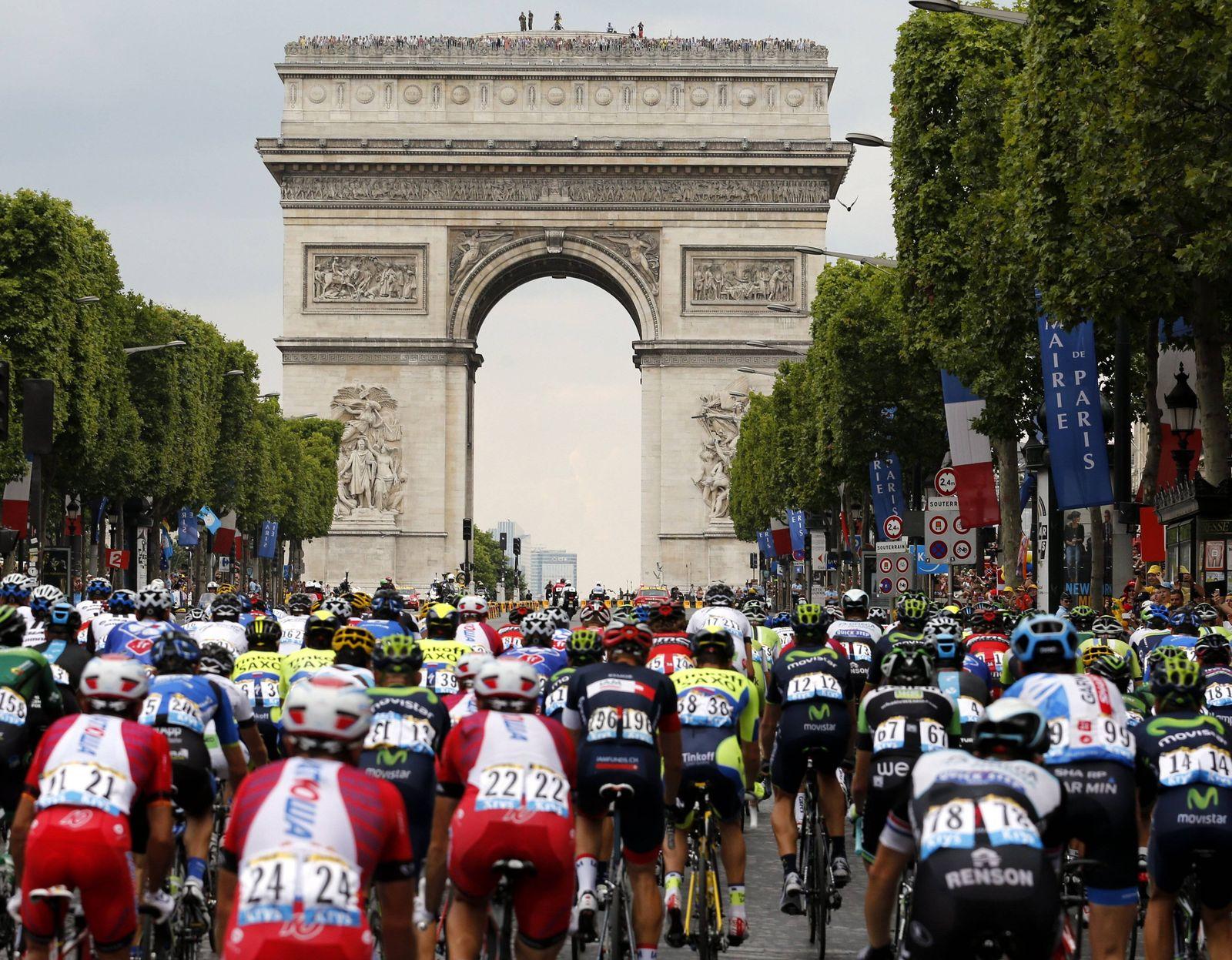 EINMALIGE VERWENDUNG Tour de France