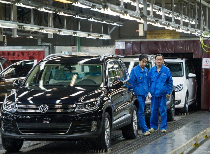 Volkswagen setzt in China auf Normalisierung bis Jahresmitte