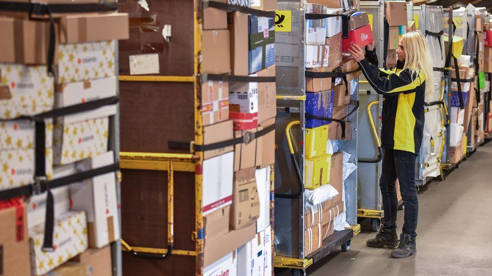Logistik: Wie die Paketdienste versuchen, der Päckchenflut Herr zu werden