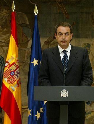 Jose Luis Rodriguez Zapatero: Spaniens Ministerpräsident ließ beschwichtigen