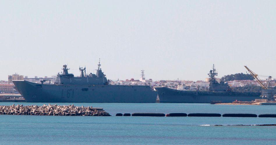 """Spaniens Flugzeugträger """"Príncipe de Asturias"""". Keine neuen Instrumente für das alte Schiff"""