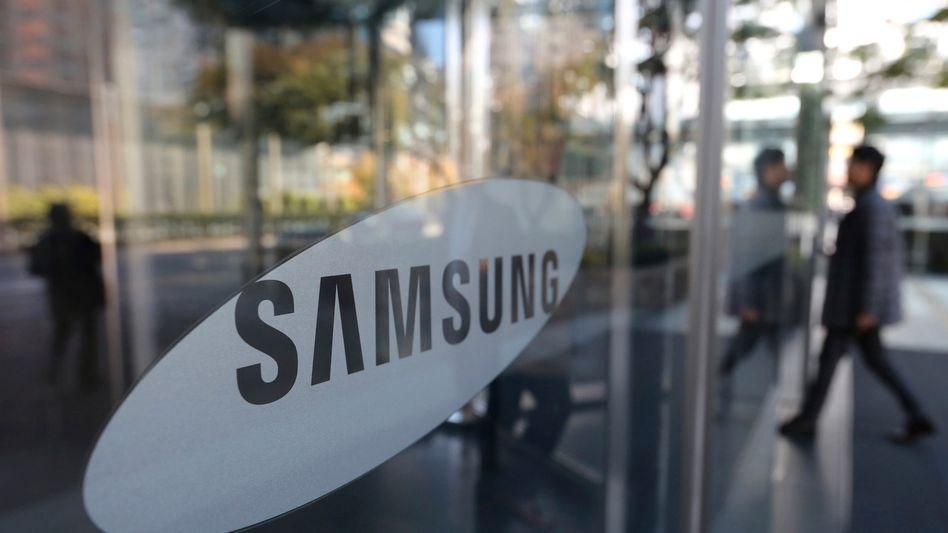 Gewinnrückgang bei Samsung