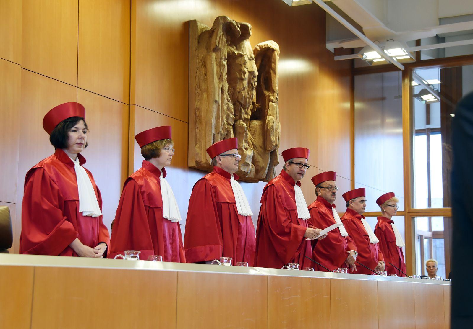 zweiter Senat Bundesverfassungsgericht