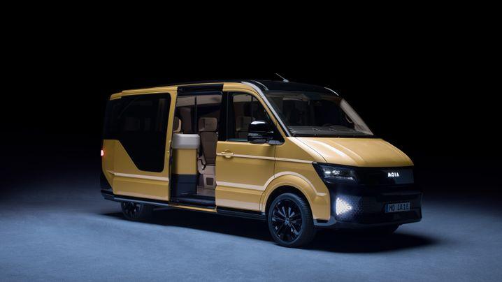 Volkswagen-Marke Moia stellt Elektro-Shuttle vor: Dieser Elektro-Minibus fährt VW in die Mobilitätsdienst-Zukunft