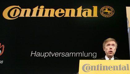 Räumt seinen Posten: Conti-AR-Chef von Grünberg