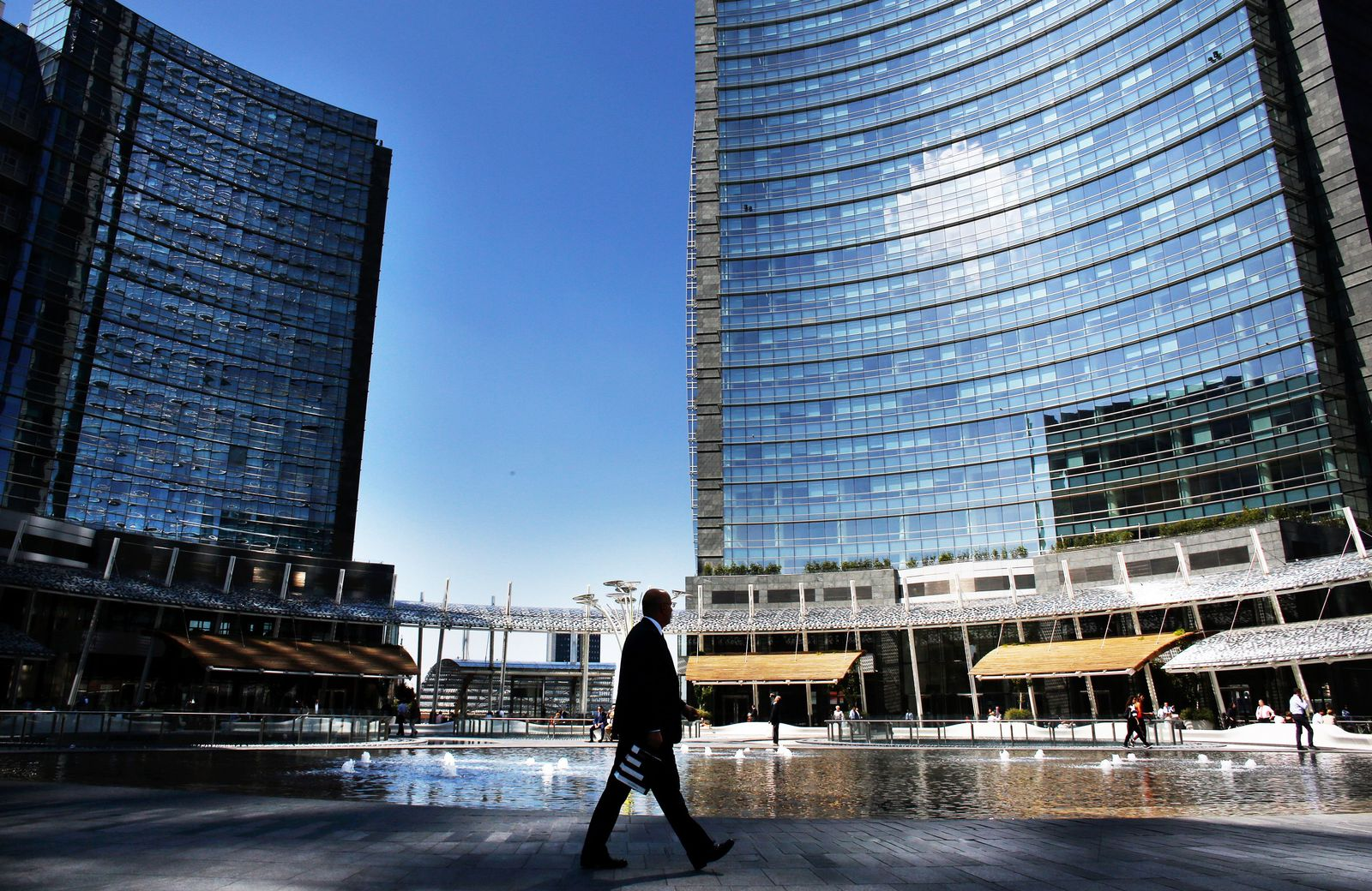 Mailand / Italien / Finanzkrise
