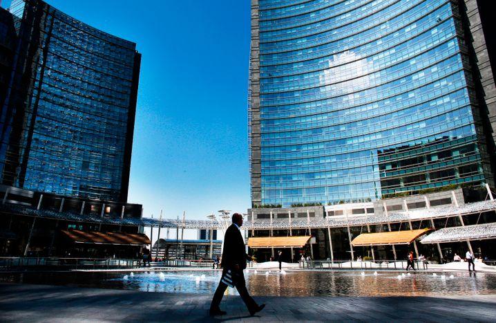 Unicredit-Zentrale: Auch der Marktführer hat eigene Bilanzlücken zu schließen