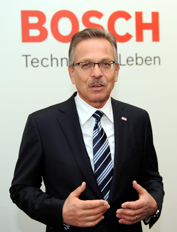 Bosch Jahres-Pressekonferenz