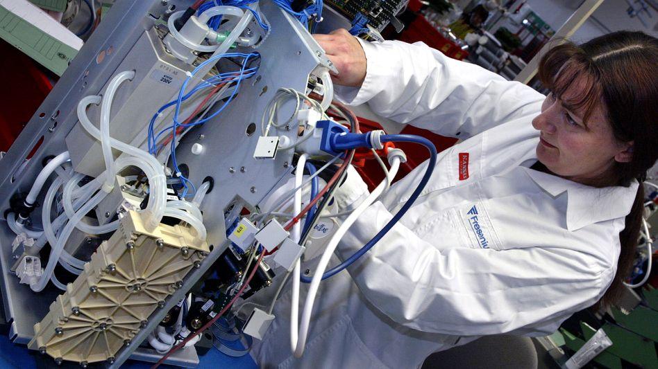 Dialysegerät: FMC ist Marktführer im Bereich Blutwäsche