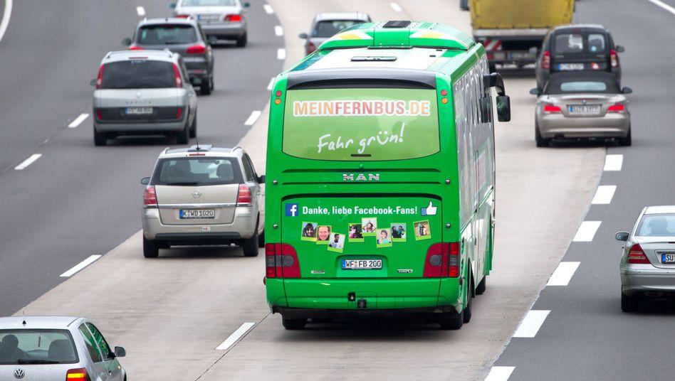 Zäh: Der Fernbus-Markt wächst Anfang 2016 nicht mehr.