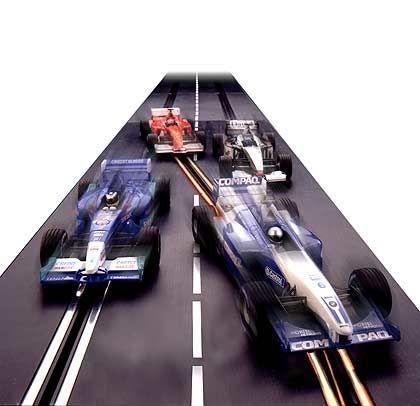 So wie damals, nur besser: Carrera Digital Racing, ab 199 Euro