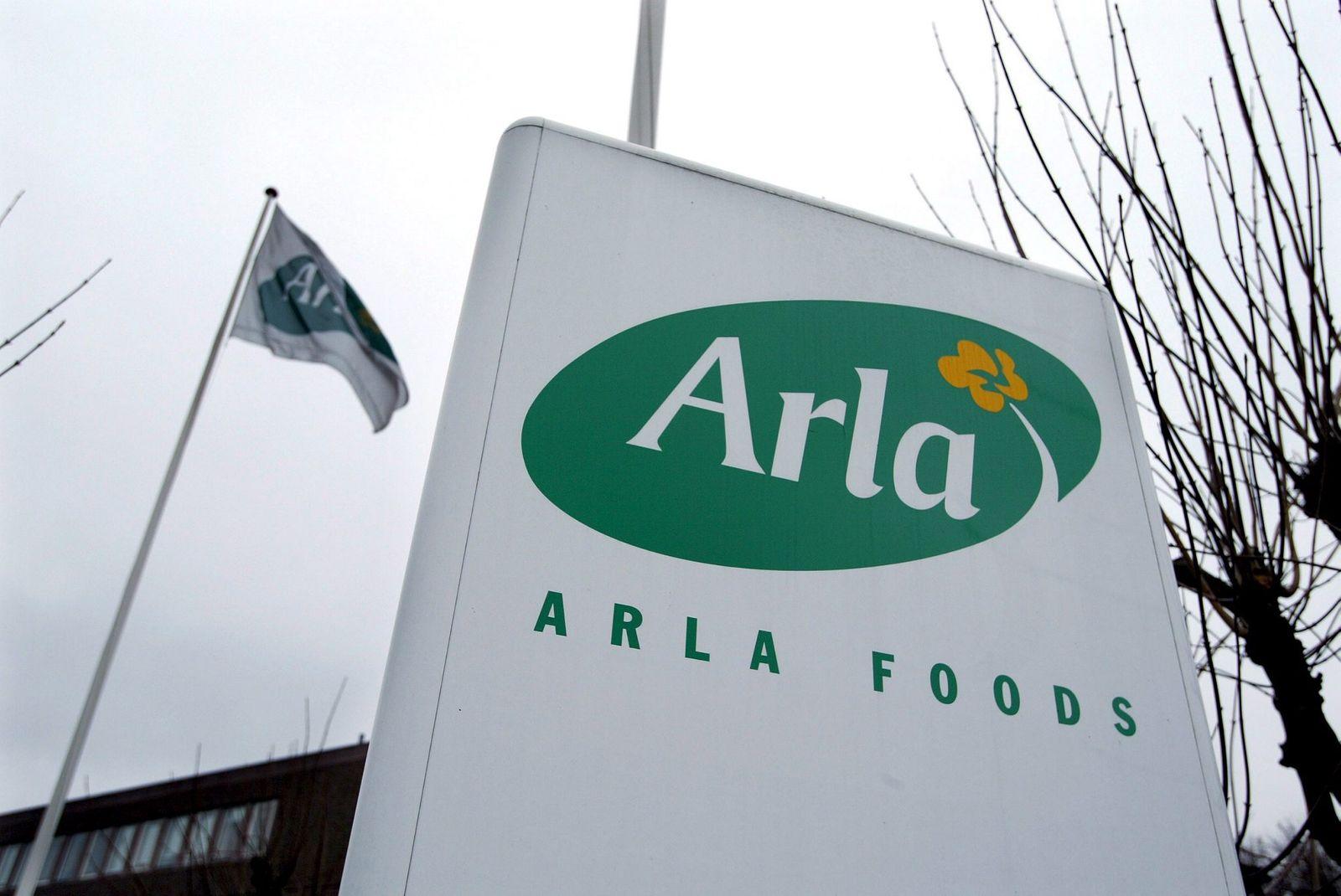 Arla Firmenschild